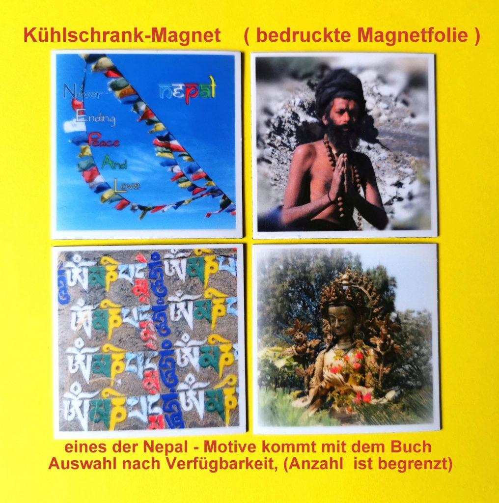 Nepalmotive zum Buch (Anzahl begrenzt)