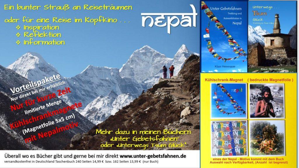 mit dem Buch kommt ein Kühlschrankmagnet mit einem Nepal Motiv (so lange Vorrat reicht) Kleiner Mehrpreis und versandkostenfrei!